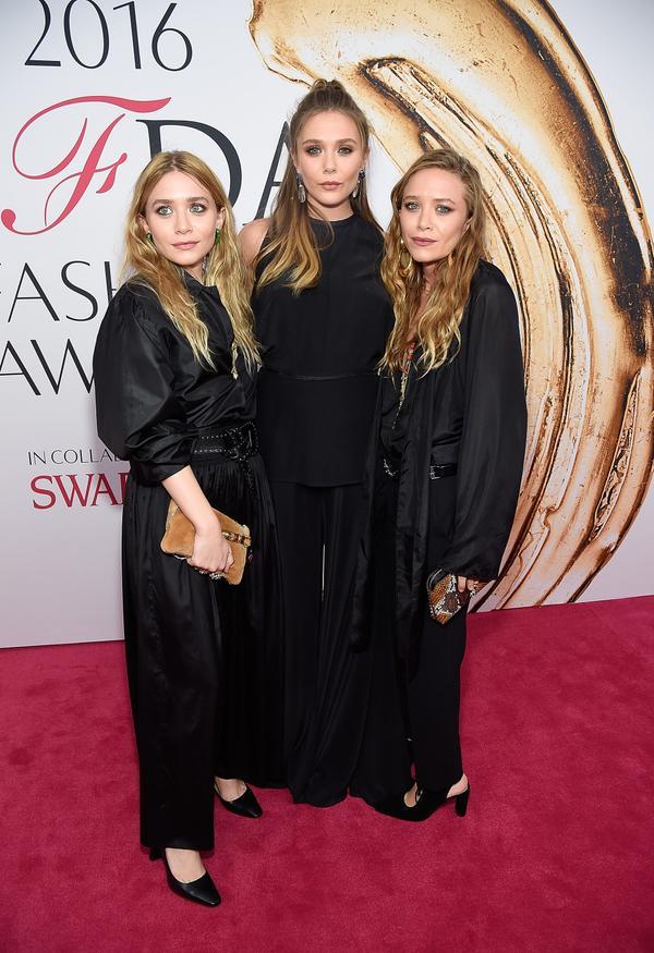 WHO: Ashley, Elizabeth and Mary-Kate Olsen