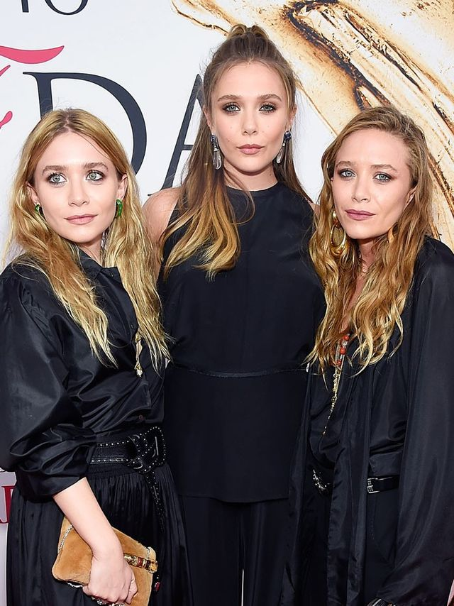 Mary-Kate, Ashley, and Elizabeth Olsen Are All Matching on ...