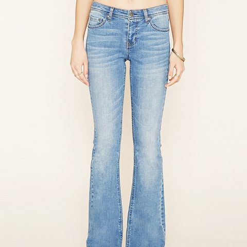 Contemporary Flared Jeans