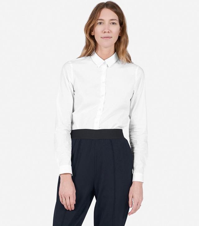 Everlane The Slim Stretch Poplin Shirt