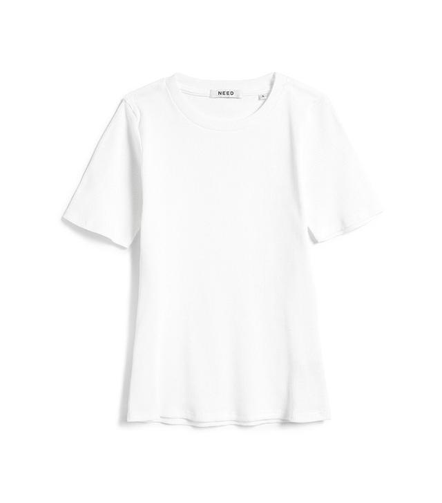 Need Rib Crew Neck T-shirt