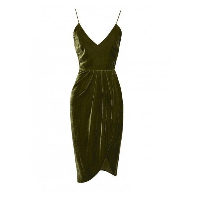Vatanika Silk Velvet dress