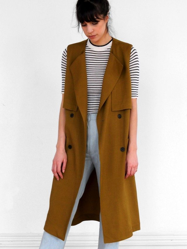 Waltz Sleeveless Trench