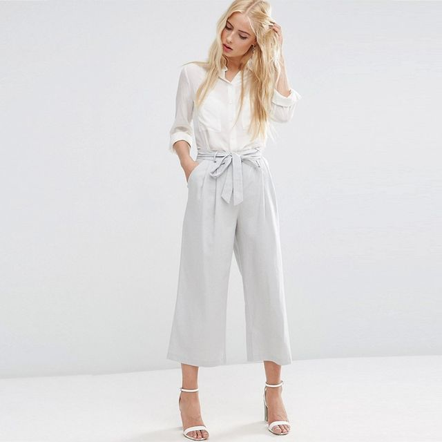ASOS Culotte With Tie Waist