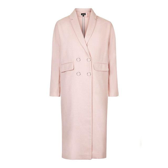 Topshop Longline Slouch Fit Coat