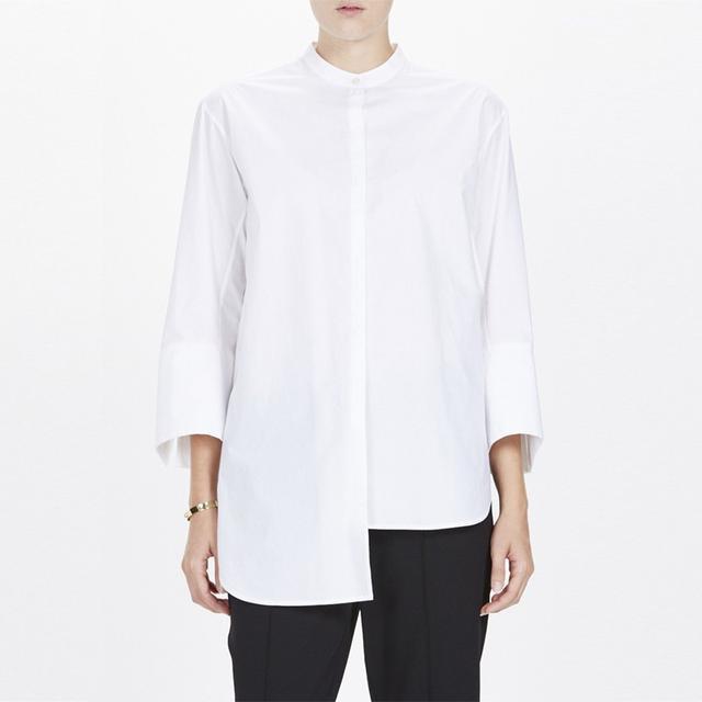 Bassike Cotton Asymmetrical Shirt
