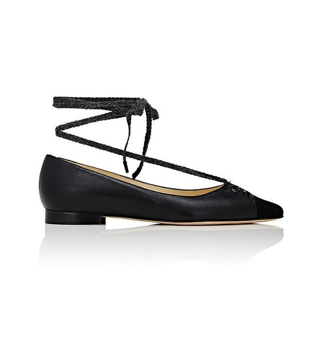 Sarah Flint Lily Ankle-Tie Flats
