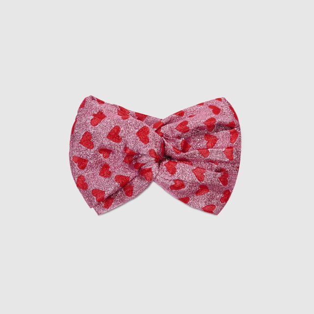 Gucci Lurex Heart Headband