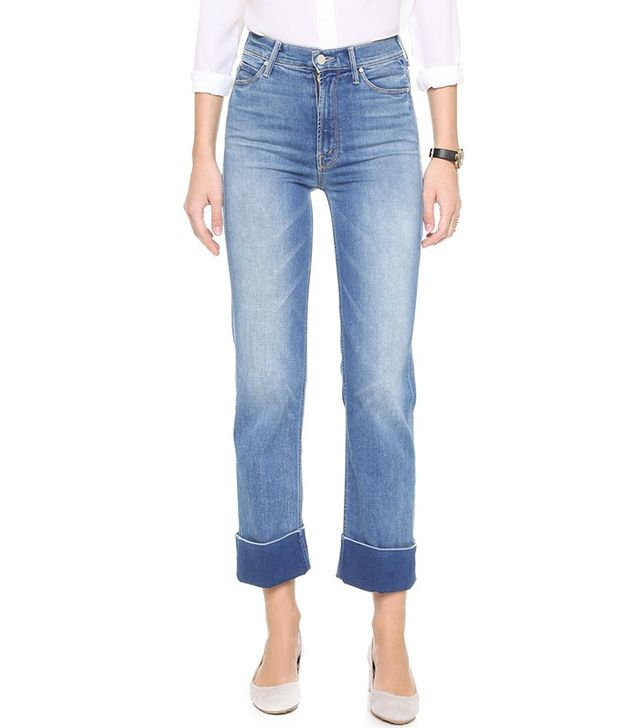 Mother The Maverick Cuff Jeans