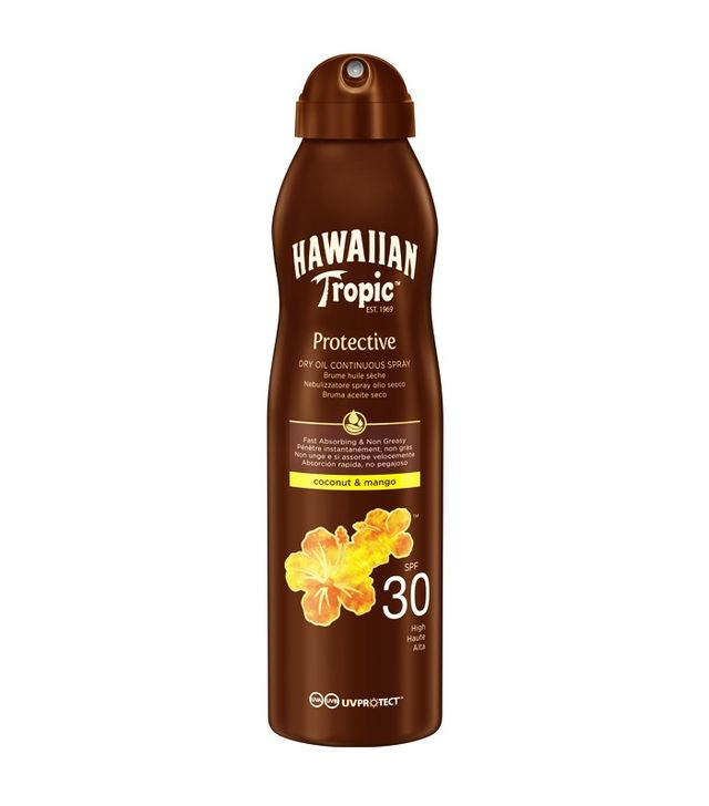 Hawaiian Tropic Protective Dry Oil Continuous Spray SPF 30