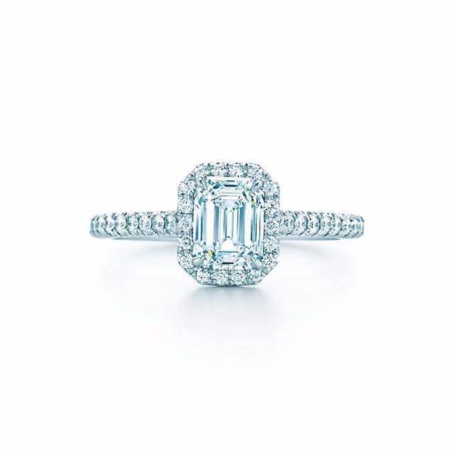 Tiffany & Co. Soleste Emerald Cut Ring