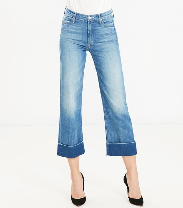Mother Maverick Cuff Jeans