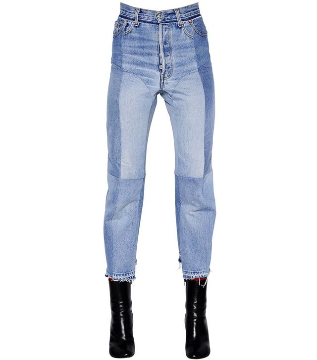Vetements Reworked Biker Jeans