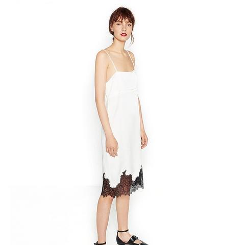Dress With Lace Trim