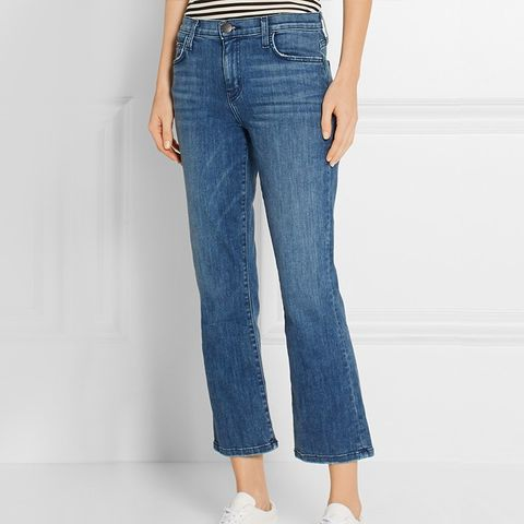 The Kick Cropped Jeans