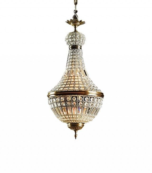 Restoration Hardware 19th C. French Empire Crystal Chandelier