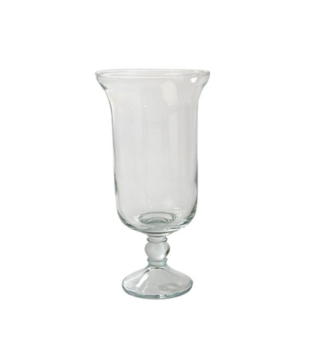 Libbey Peristyle Glass Hurricane Set of 2