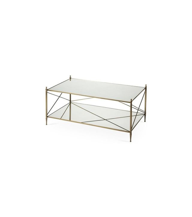 One Kings Lane Charlotte Mirrored Coffee Table