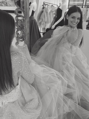 The Back of This Christian Siriano Wedding Dress Is Amazing