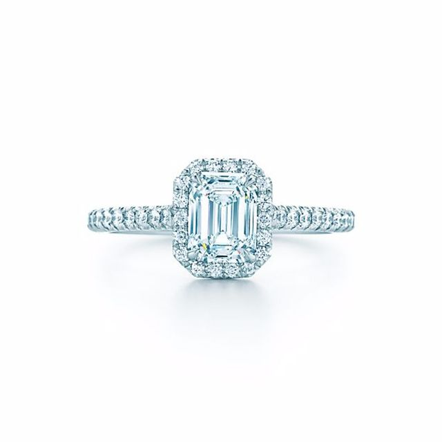 Tiffany & Co. Soleste Emerald Cut Ring