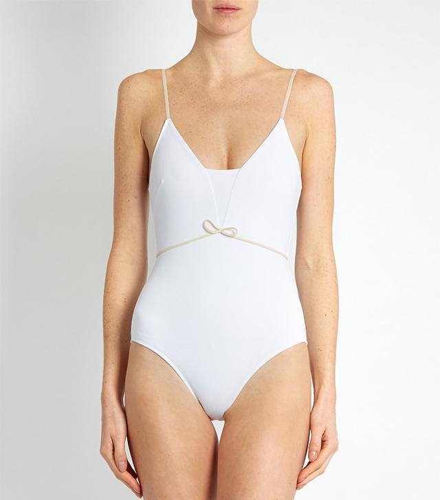Roxana Salehoun Waist-Bow Swimsuit
