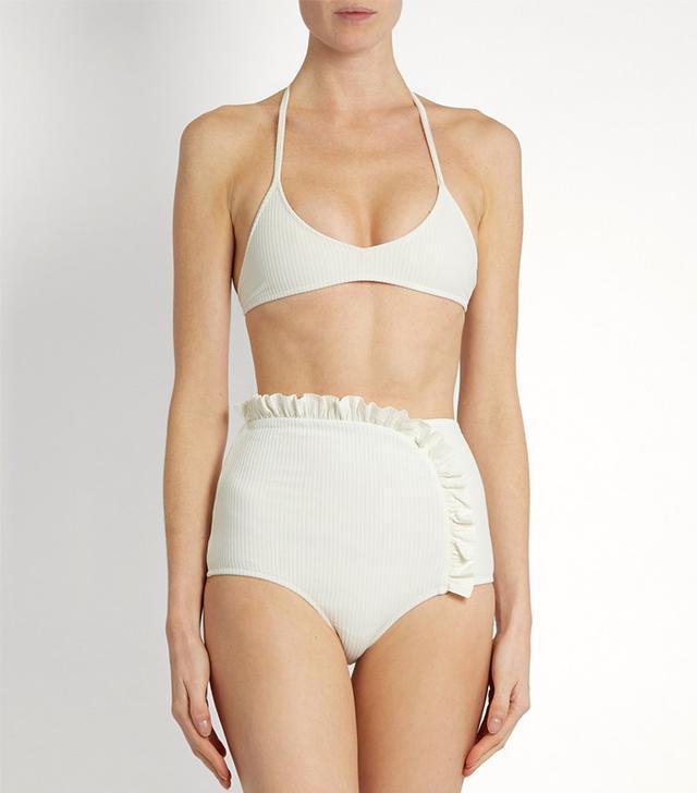 Made By Dawn Shell Bikini Top