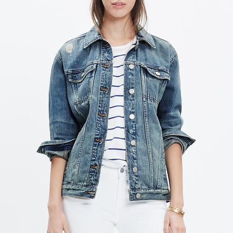 The Oversized Jean Jacket