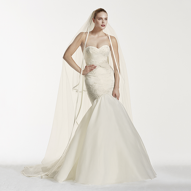 Truly Zac Posen Mermaid Wedding Dress With Lace