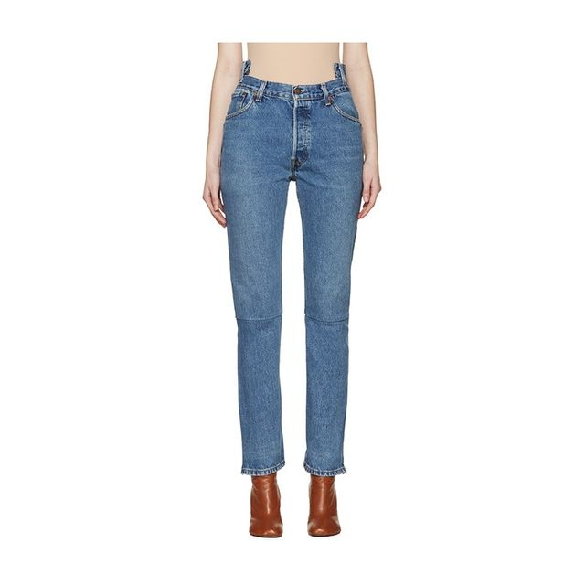 Vetements Blue Reconstructed 1387 Jeans