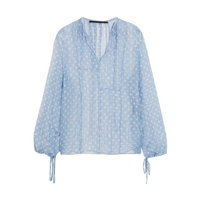 Haider Ackermann Polka Dot Crinkle Shirt