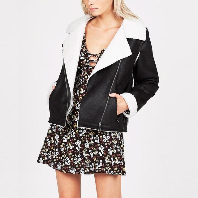 Don't Ask Amanda Sherpa Jacket