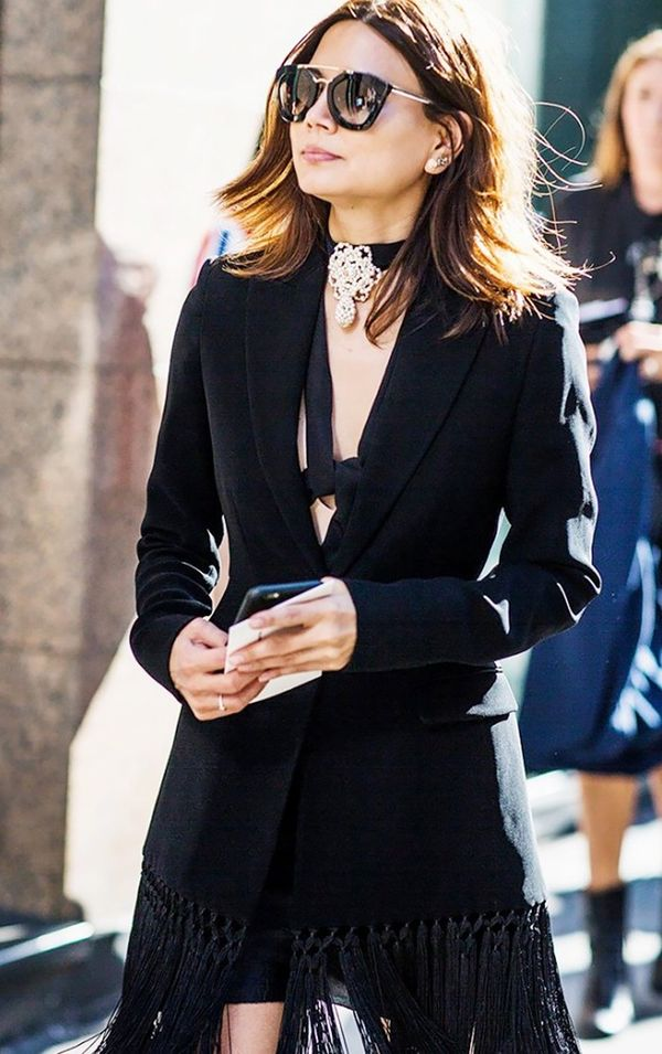Editors (like Vogue Australia's Christine Centenera, seen here) and street-style stars alike rely on the accessories to make their outfits pop during fashion week and beyond.