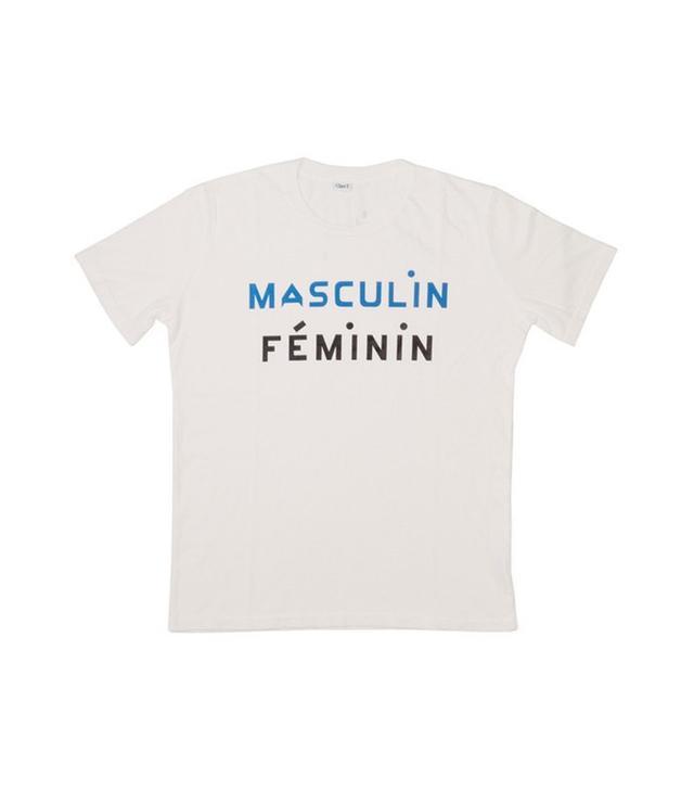 Clare V. Masculin Feminin Tshirt