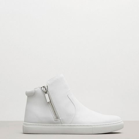Kiera Leather Sneaker