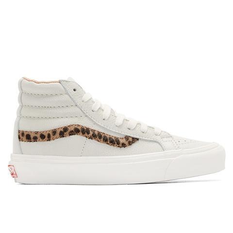 Grey Leopard OG Sk8-Hi LX Sneakers