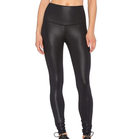 High Waist Airbrush Leggings