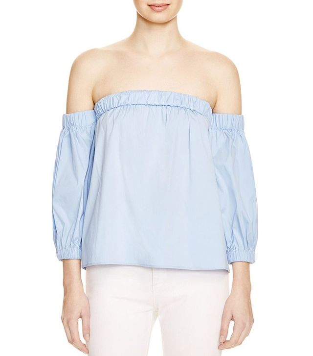 Milly Off-the-Shoulder Blouse