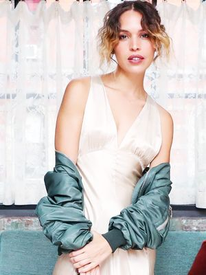 The New Way to Wear Your Slip Dress, According to Cool-Girl Cleo Wade