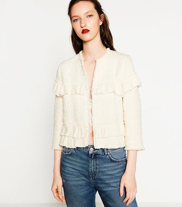 Zara Frilled Jacket