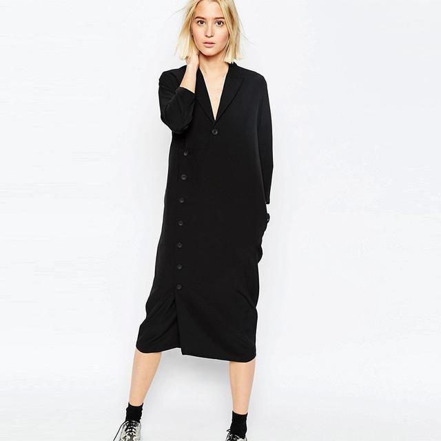ASOS Long Sleeve Shirt Dress