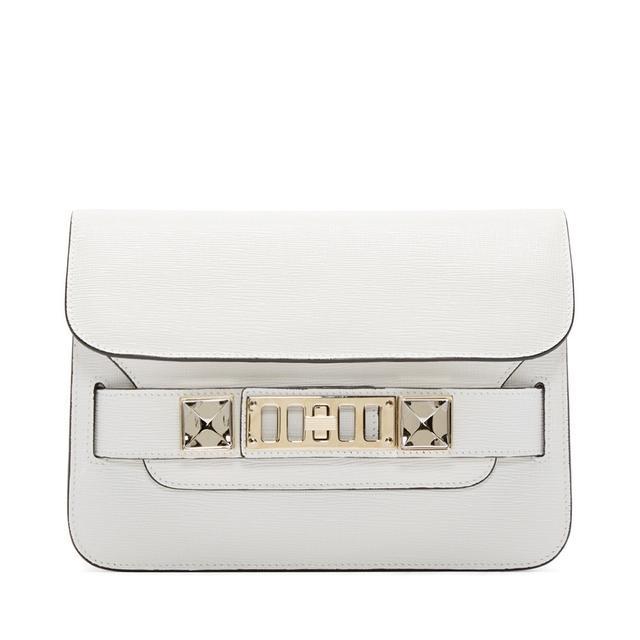 Proenza Schouler PS11 Mini Classic Bag in White