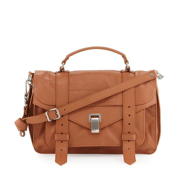 Proenza Schouler PS1 Medium Satchel Bag in Dune