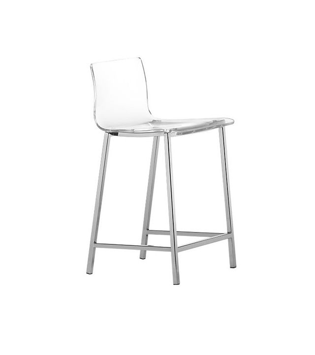 "CB2 30"" Acrylic Bar Stool"