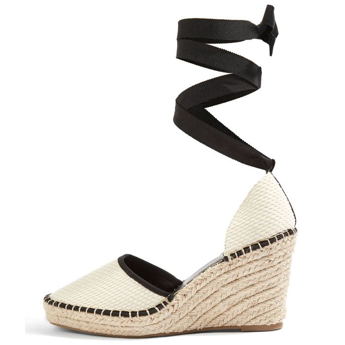 best espadrilles: Topshop Williams Espadrille Wedges