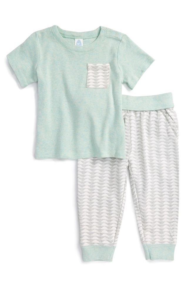 Stem Baby T-Shirt and Pants Set