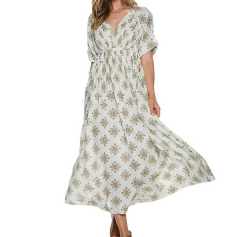 Noyal Printed Maxi Dress