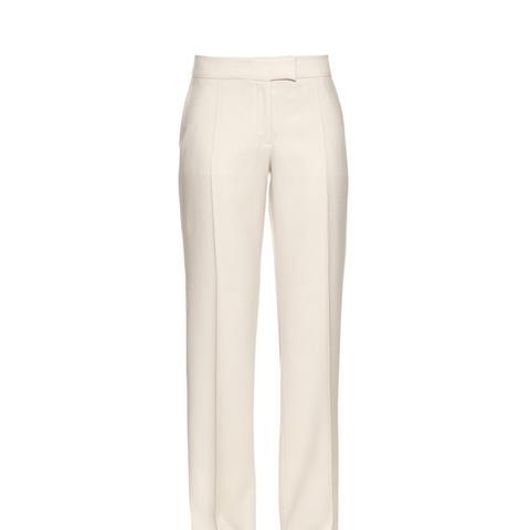 Jasmin Straight-leg Wool Trousers