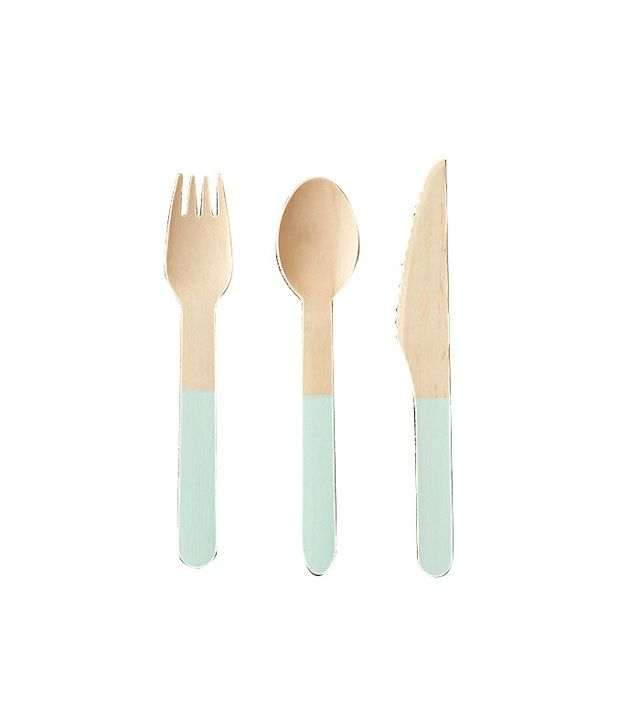 Terrain Color Dipped Picnic Cutlery Set