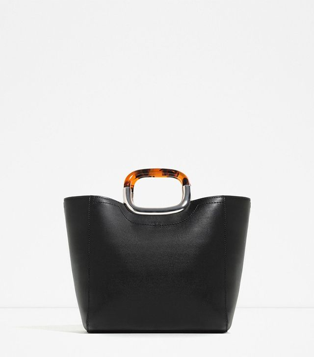 Zara Tote with Handle Detail