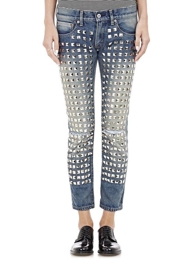 Junya Watanabe Comme des Garçons Studded Jeans